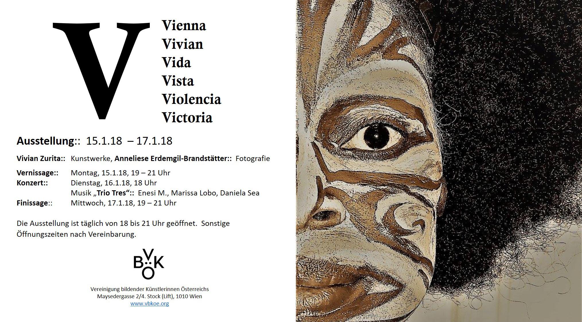 V Ausstellung Einladung